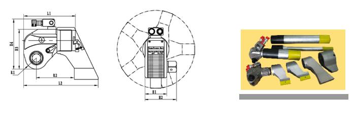 供应英国玛吉塔 112~72000n.m 工业级驱动式液压力矩/扭矩扳手图片