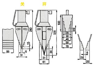 液压式法兰分离器